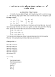 Phương pháp tính với C++ - Chương 4