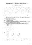 Phương pháp tính với C++ - Chương 7