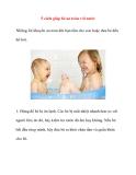 5 cách giúp bé an toàn với nước