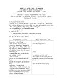 Giáo án mầm non -  BÀI TẬP HÔ HẤP