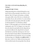 Giáo trình cơ sở di truyền chọn giống động vật -  Chương 2