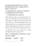 Giáo trình công nghệ chế biến hải sản - Chương I