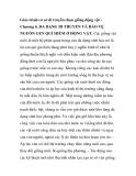 Giáo trình cơ sở di truyền chọn giống động vật - Chương 6