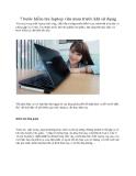 7 bước kiểm tra laptop vừa mua trước khi sử dụng