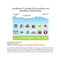 AutoReboot Ứng dụng hỗ trợ tự động reset BlackBerry nhanh chóng