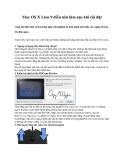 Mac OS X Lion 9 điều nên làm sau