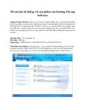 Tối ưu hóa hệ thống với sản phẩm của Suining YiLong Software