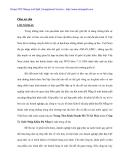 Công tác quản trị kênh phân phổi sản phẩm xe máy tại Cty Xuất nhập khẩu Đà nẵng - 1
