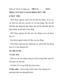 Giáo án Vật lý 12 nâng cao - TIẾT 18 DAO ĐỘNG TẮT DẦN VÀ DAO ĐỘNG DUY TRÌ