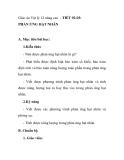 Giáo án Vật lý 12 nâng cao - TIẾT 92-93: PHẢN ỨNG HẠT NHÂN