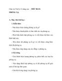 Giáo án Vật lý 12 nâng cao - TIẾT 90-91: PHÓNG XẠ