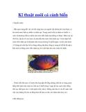 Kĩ thuật nuôi cá cảnh biển