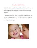 Bí quyết cai sữa để bé ít khóc