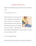 Giúp bé học từ mới qua trò chơi