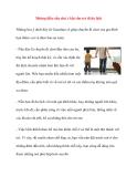 Những điều cần chú ý khi cho trẻ đi du lịch