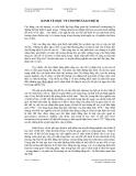 Phân tích tài chính - KINH TẾ HỌC VỀ CHI PHÍ GIAO DỊCH