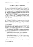 Giáo trình phân tích tài chính -  BàBài giảng 1  TỔNG QUAN VỀ PHÂN TÍCH TÀI CHÍNH