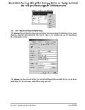 Giáo trình hướng dẫn phân tích quy trình sử dụng terminal service profile trong cấu hình account p1