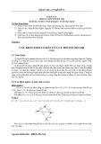Bài giảng lý thuyết đồ thị - Chương 1