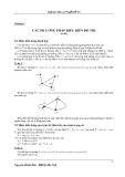 Bài giảng lý thuyết đồ thị - Chương 2
