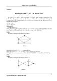 Bài giảng lý thuyết đồ thị - Chương 4