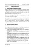 Bài giảng Mô hình hóa môi trường - Chương 4