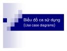 Bài giảng: Phân tích thiết kế hướng đối tượng - Biểu đồ ca sử dụng (Use case diagrams)
