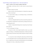Tình hình kinh doanh và công tác quản trị các khoản phải thu tại Cty may Hòa Thọ - 1