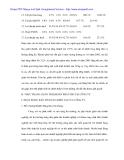 Tình hình kinh doanh và công tác quản trị các khoản phải thu tại Cty may Hòa Thọ - 6