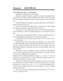 Cấu trúc dữ liệu và giải thuật - Chương 1