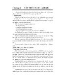 Cấu trúc dữ liệu và giải thuật - Chương 2