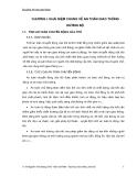 Bài giảng an toàn giao thông - Chương 1