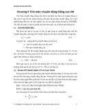 Bài giảng an toàn giao thông - Chương 2