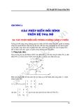 Đồ họa máy tính - Chương 2 Các phép biến đổi hình trên hệ toạ độ - Bài 4
