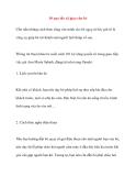10 quy tắc xã giao cho bé