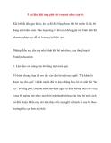 5 sai lầm khi ứng phó với cơn mè nheo của bé
