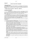 Chương 10:  KẾ TOÁN NGUỒN VỐN CHỦ SỞ HỮU