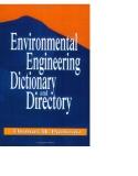 environmental engineering dictionary and directory phần 1
