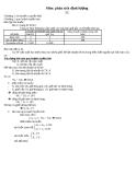 Bài tập phân tích định lượng