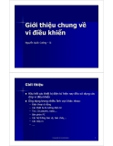 Bài giảng vi điều khiển - Bài số 1