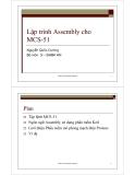 Bài giảng vi điều khiển - Bài số 4