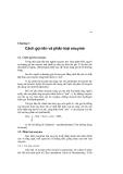 Enzyme kiến thức cơ bản - Chương 3
