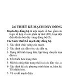 Mạch dãy - Phần 6