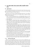 HỆ THỐNG ĐIỀU KHỂN PHÂN TÁN - CHƯƠNG 7