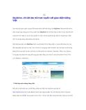 SkyDrive- 25 GB lưu trữ trực tuyến với giao diện tiếng Việt