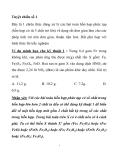 phương pháp giải nhanh bài tập môn hóa học lớp 10
