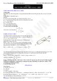 Bài giảng vật lý số 1: Đaih cương về dòng điện xoay chiều