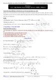 Bài tập vật lý 5: Cực trị trong dòng điện xoay chiều - 1