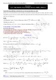 Bài tập vật lý 6: Cực trị trong dòng điện xoay chiều - 2