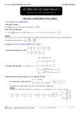 Hệ thông kiến thức trọng tâm vật lý - chương 3